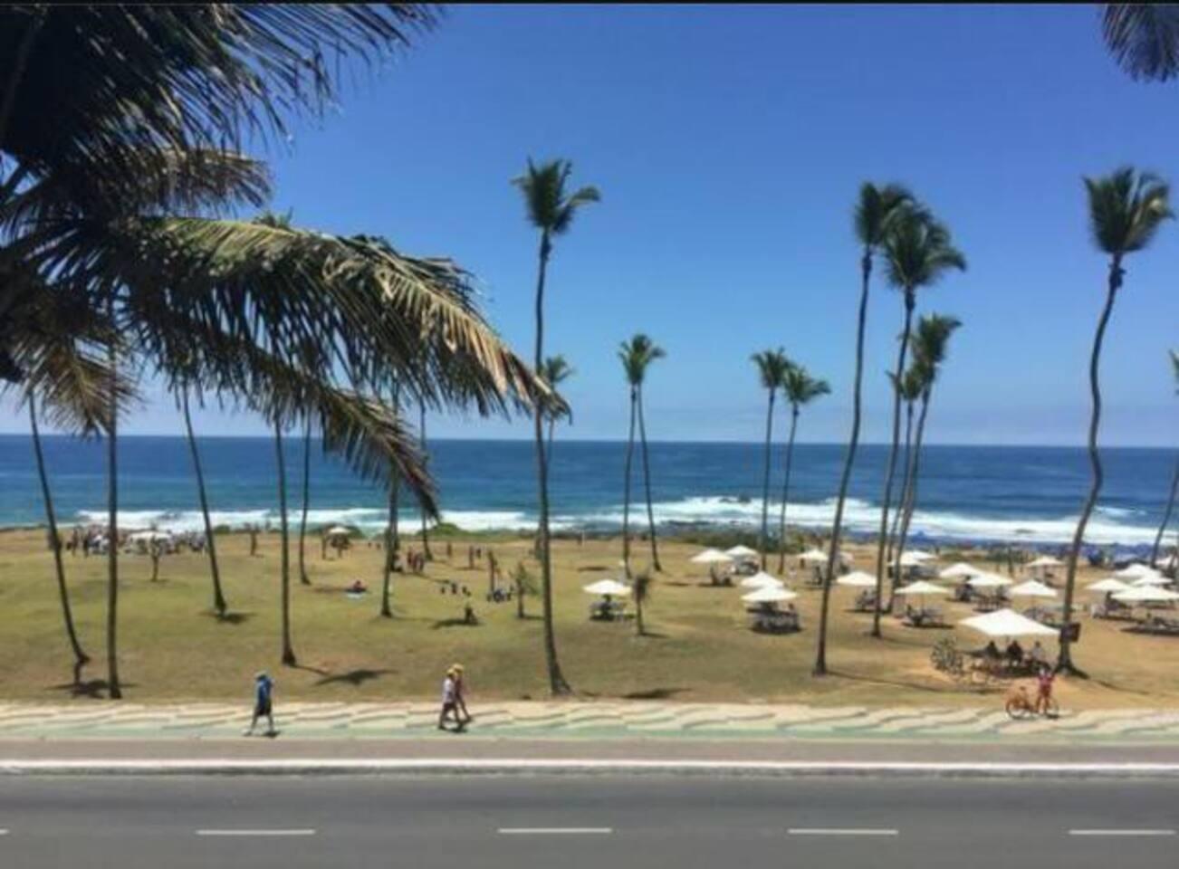 Salvador Beach Apartment com varanda - Av da Orla photo 16038118