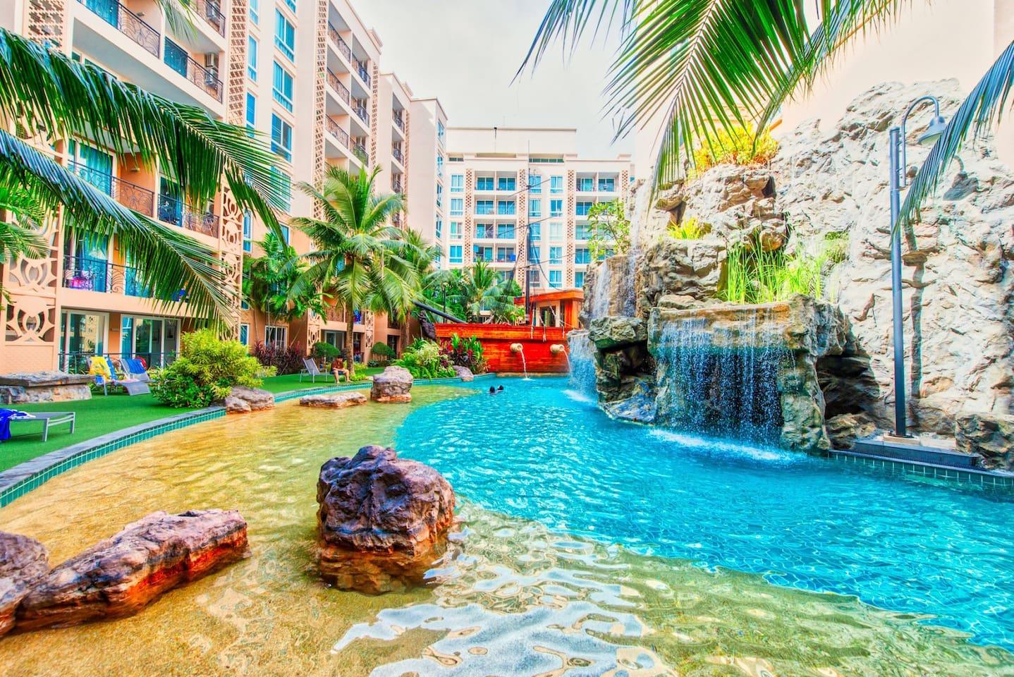 Apartment S203 Athena Atlantis Resort 5 star WaterPark with kids playground photo 23353785