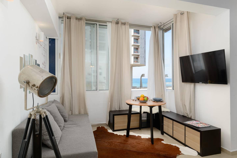 Apartment Sea view designed studio in front of Hilton TLV photo 18659480