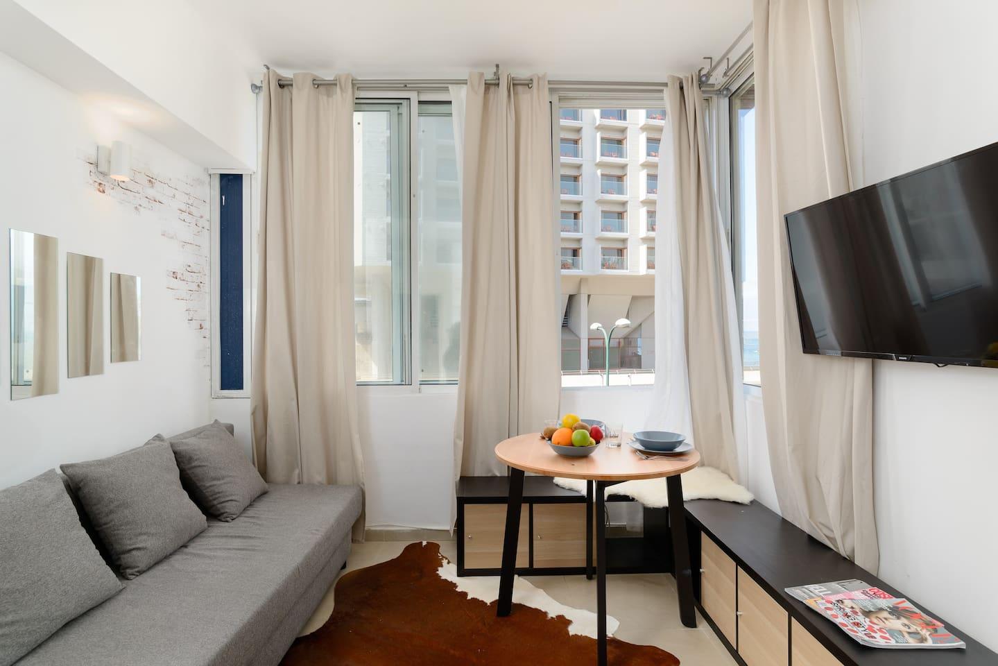 Apartment Sea view designed studio in front of Hilton TLV photo 23670662