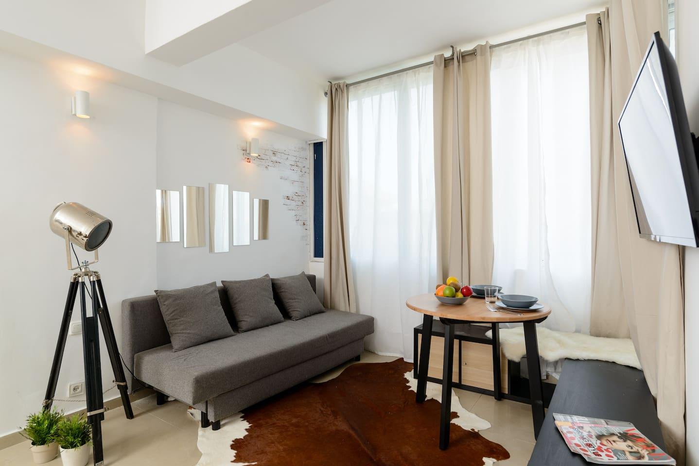 Apartment Sea view designed studio in front of Hilton TLV photo 18708440