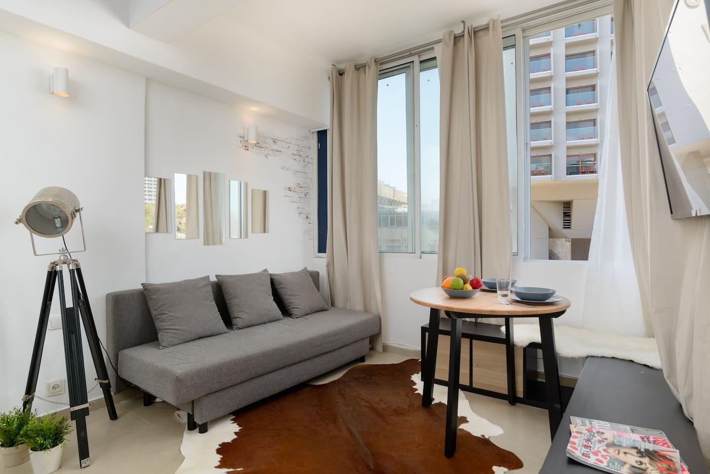 Apartment Sea view designed studio in front of Hilton TLV photo 18708442