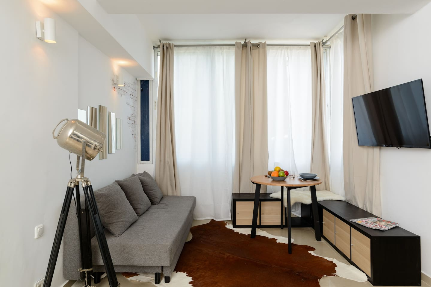 Apartment Sea view designed studio in front of Hilton TLV photo 18648395