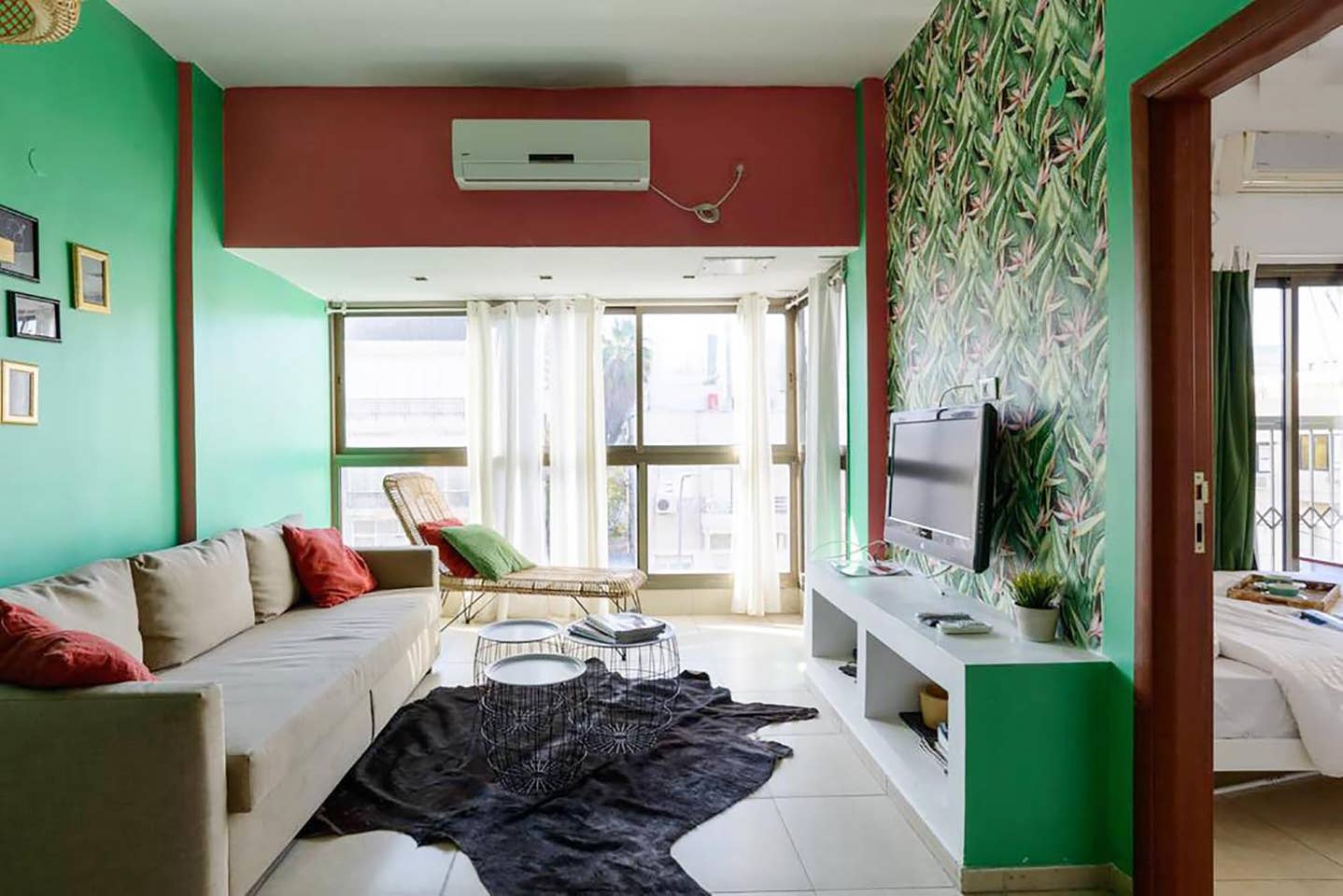 Apartment Tropical sensation next to the beach TLV photo 18483848
