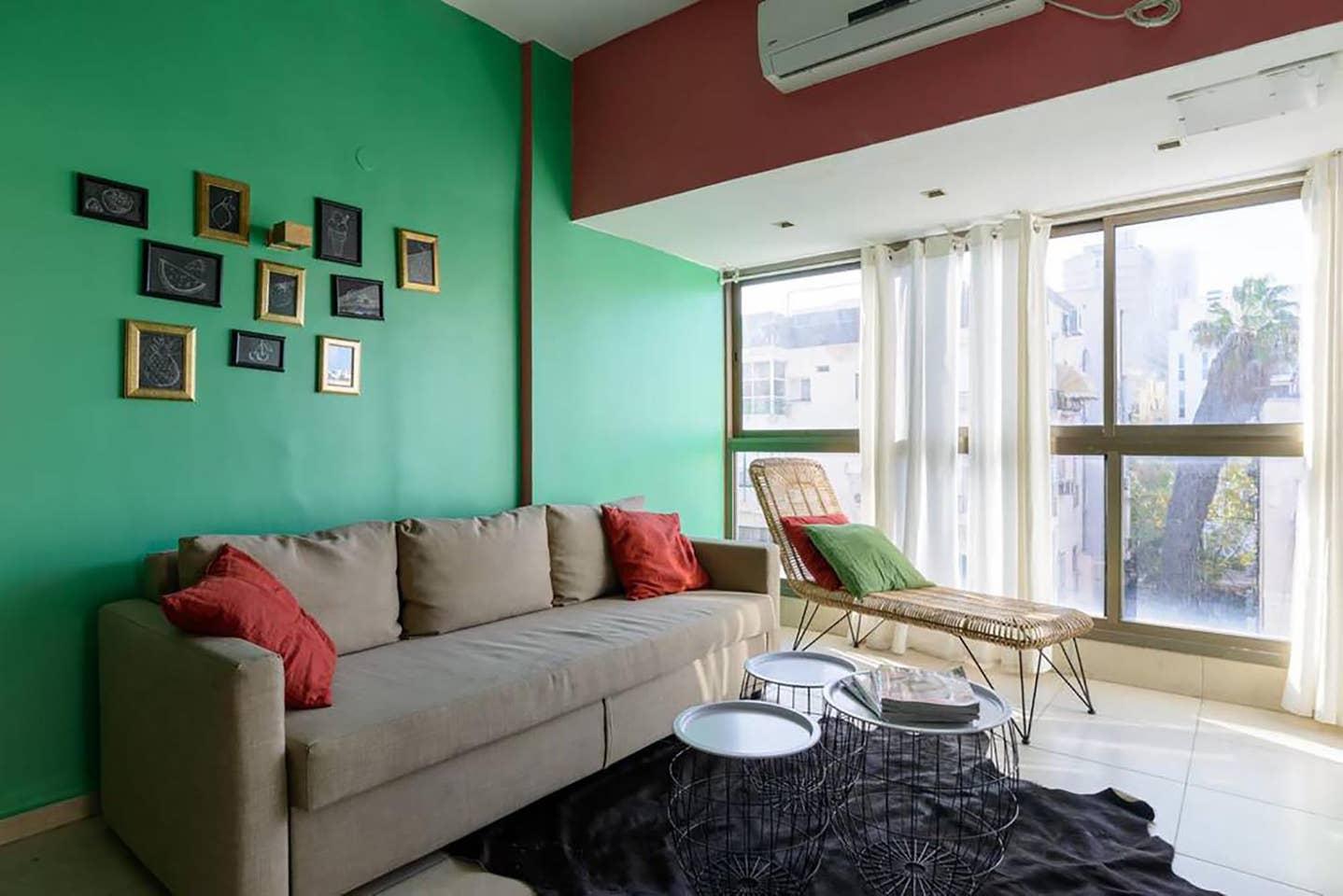 Apartment Tropical sensation next to the beach TLV photo 18168683