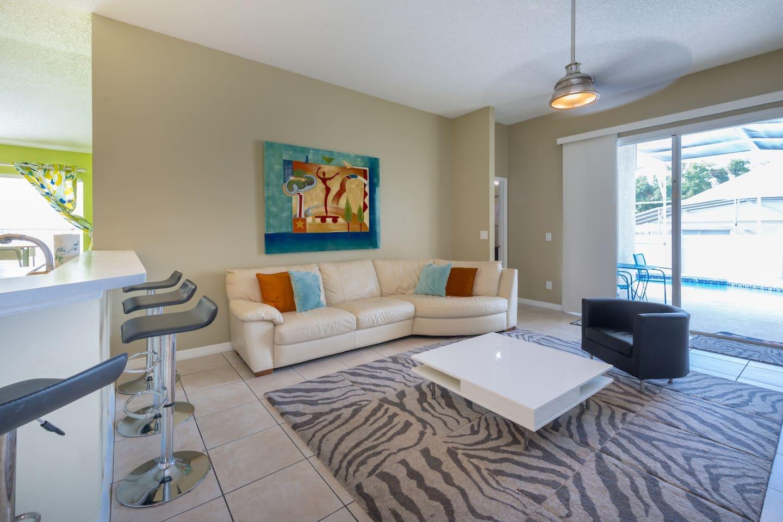 Apartment Spacious 3BR Home   King Bed  Near Disney w  Pool  photo 16928098