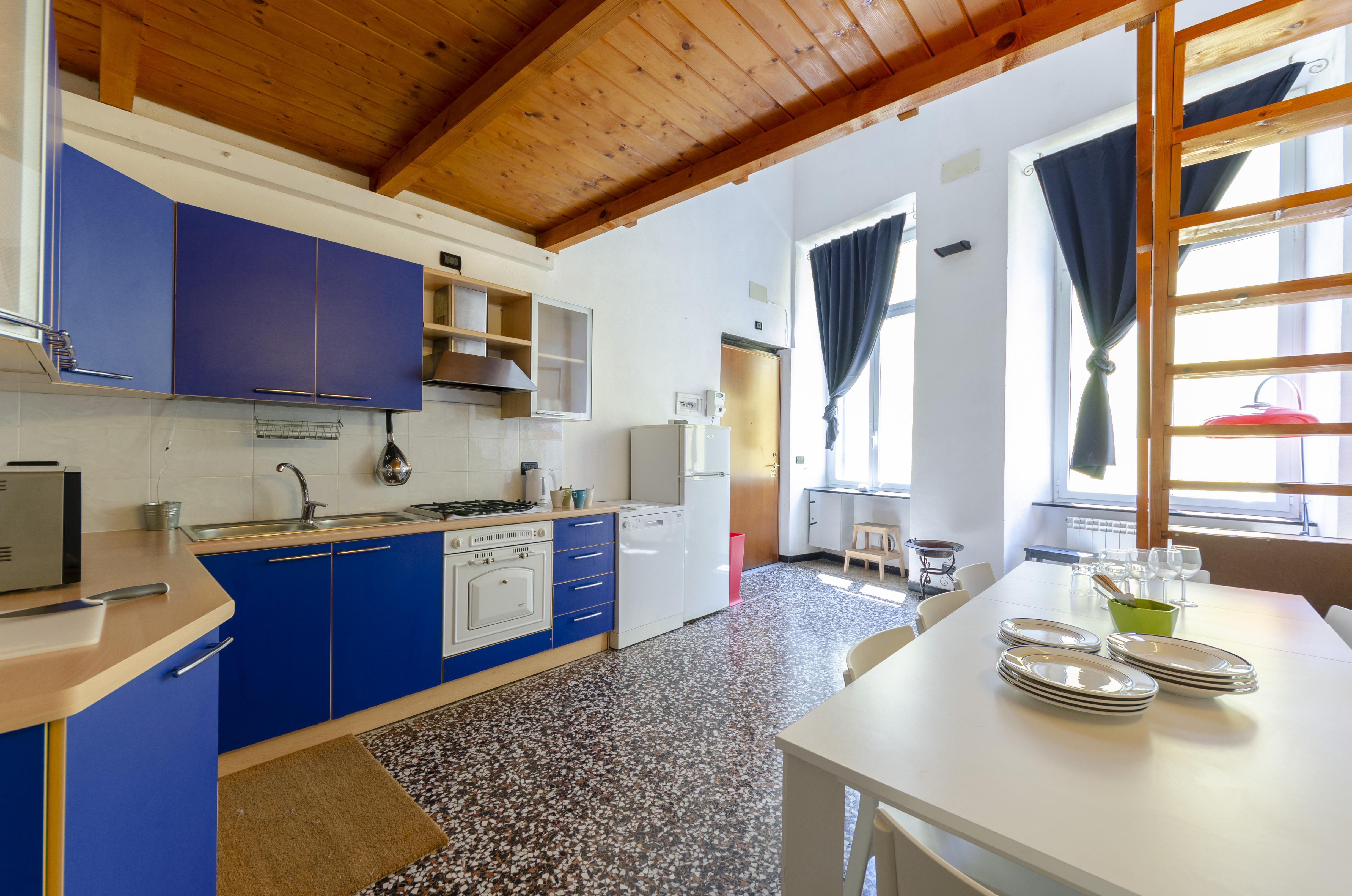 Apartment Hintown Piazza del Roso Genova Universitaria photo 18513779