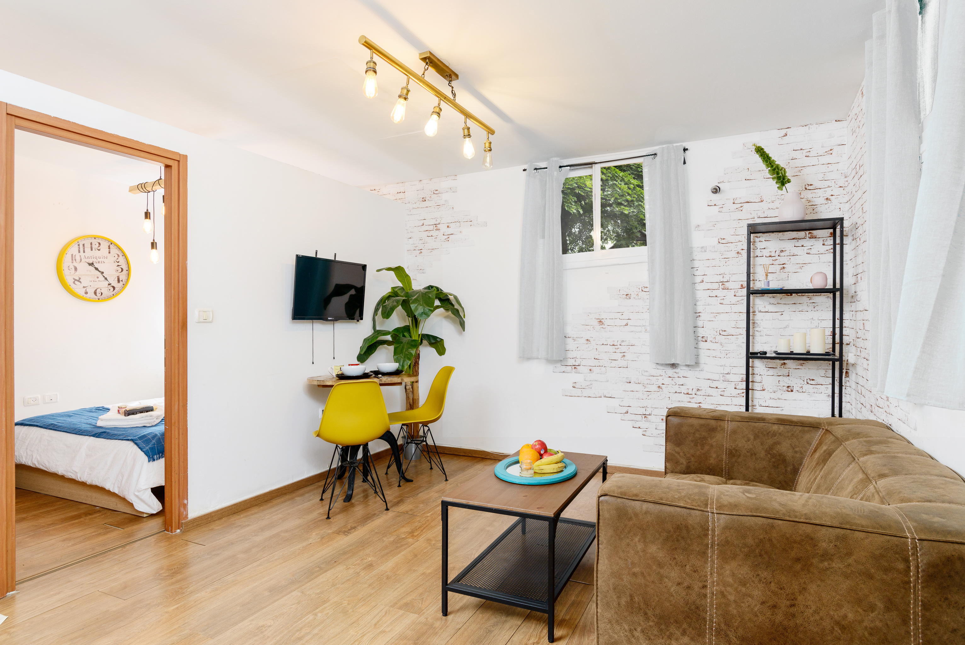 Designed apartment on Frishman Tlv photo 26055851