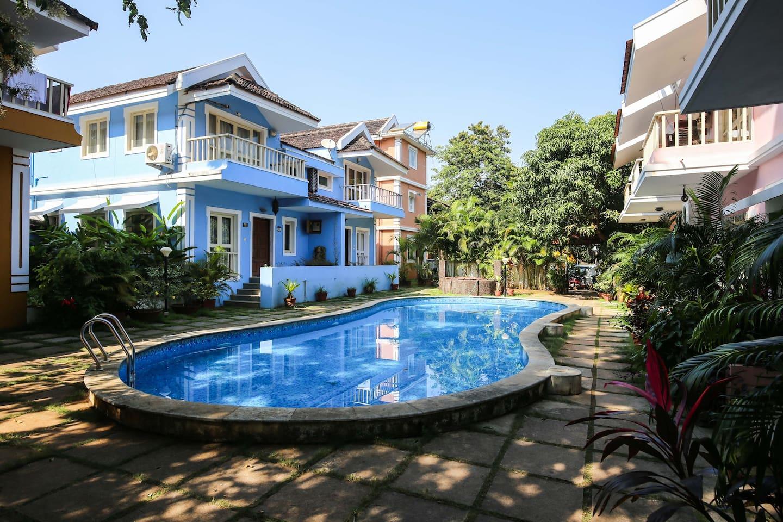 Apartment Poolside Duplex Villa in a green complex   Vagator photo 25914135