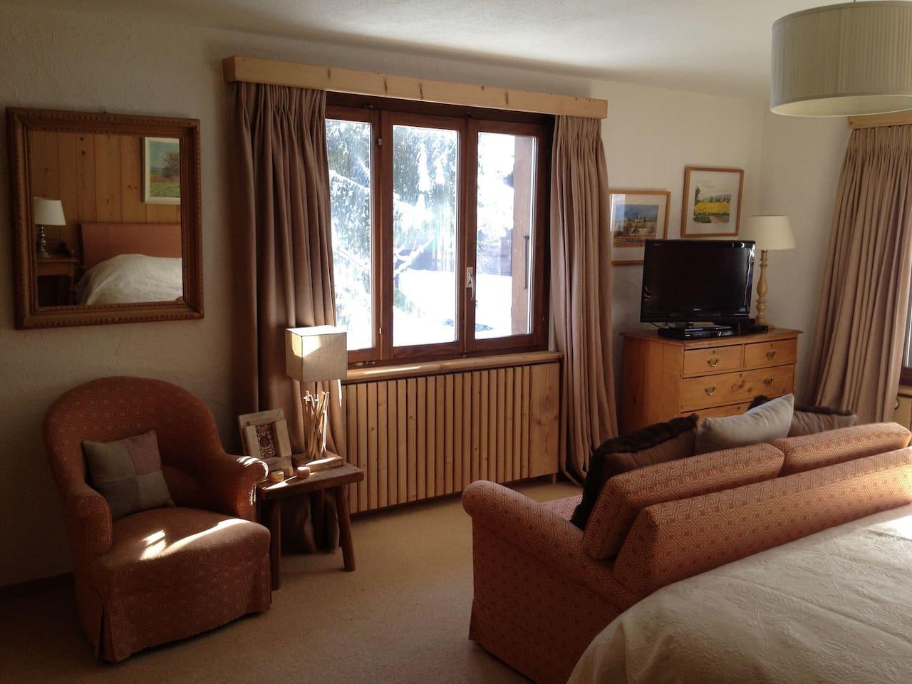 Apartment Ski-in Ski-out Luxurious Flat on the Wispile photo 26051433