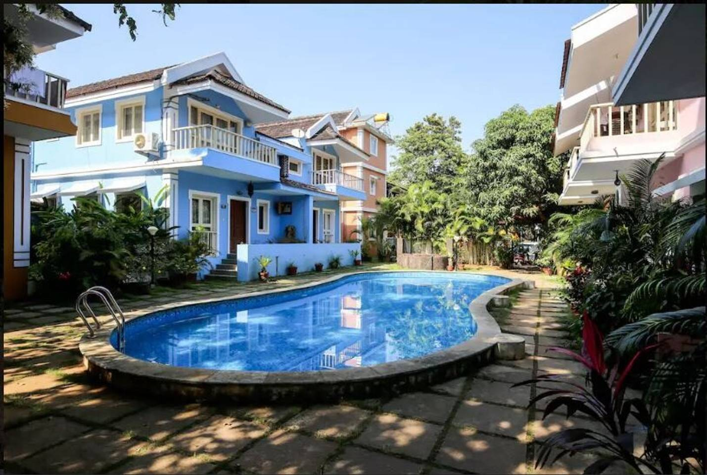 Poolview Goan Courtyard- Studio Apartment photo 6707352