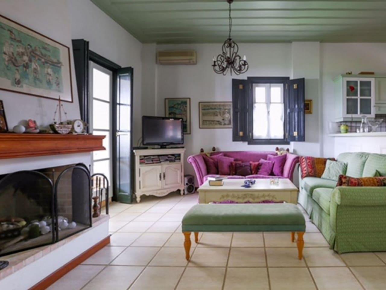 Spetses charming villa right on the beach photo 23853746