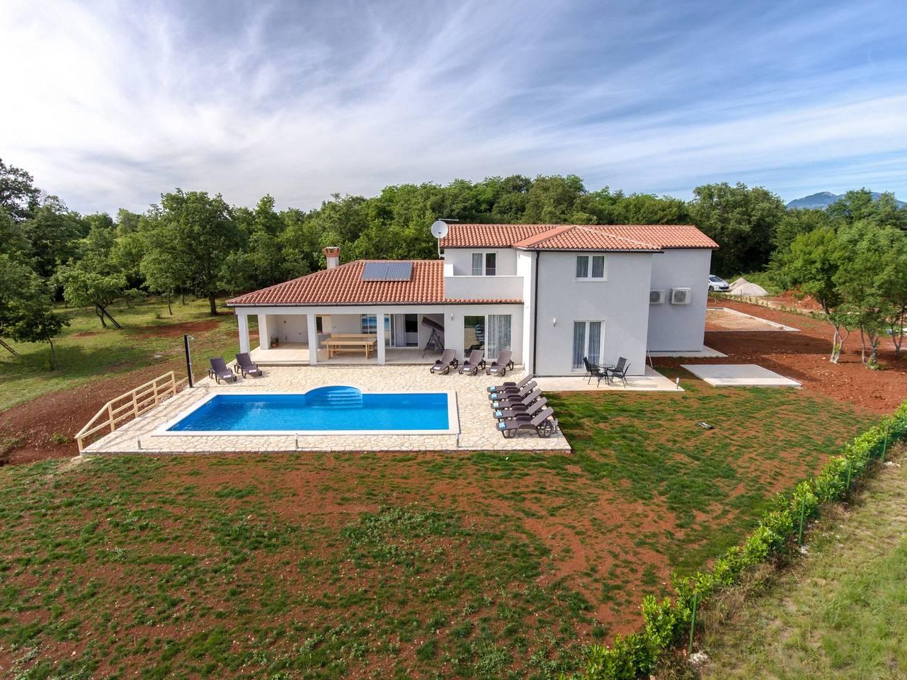 Apartment Private Villa in Sumber near Rabac photo 25618300