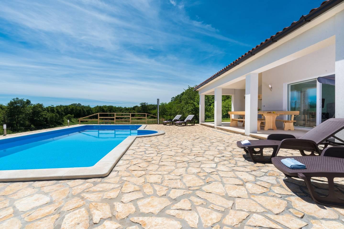 Apartment Private Villa in Sumber near Rabac photo 16812637