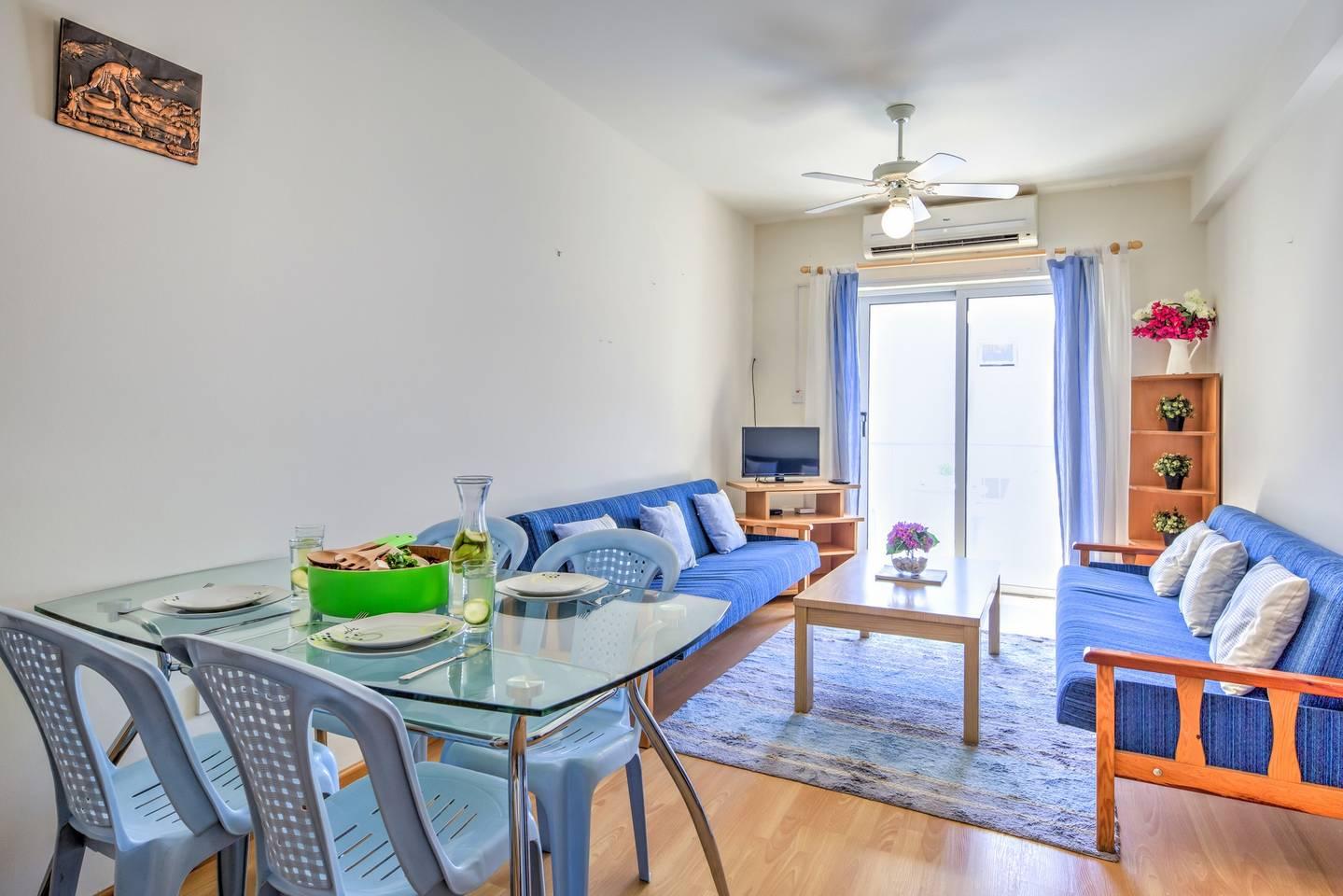 Apartment Large 2 Bedroom Apt - Ayia Napa Centre - ANDREA photo 25600630