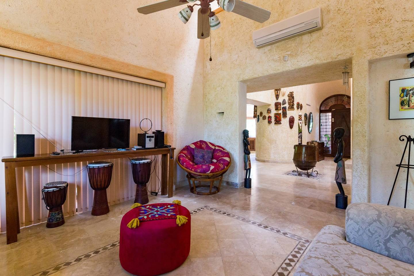 Apartment Lovely house with tropical yard in Playacar photo 16827417