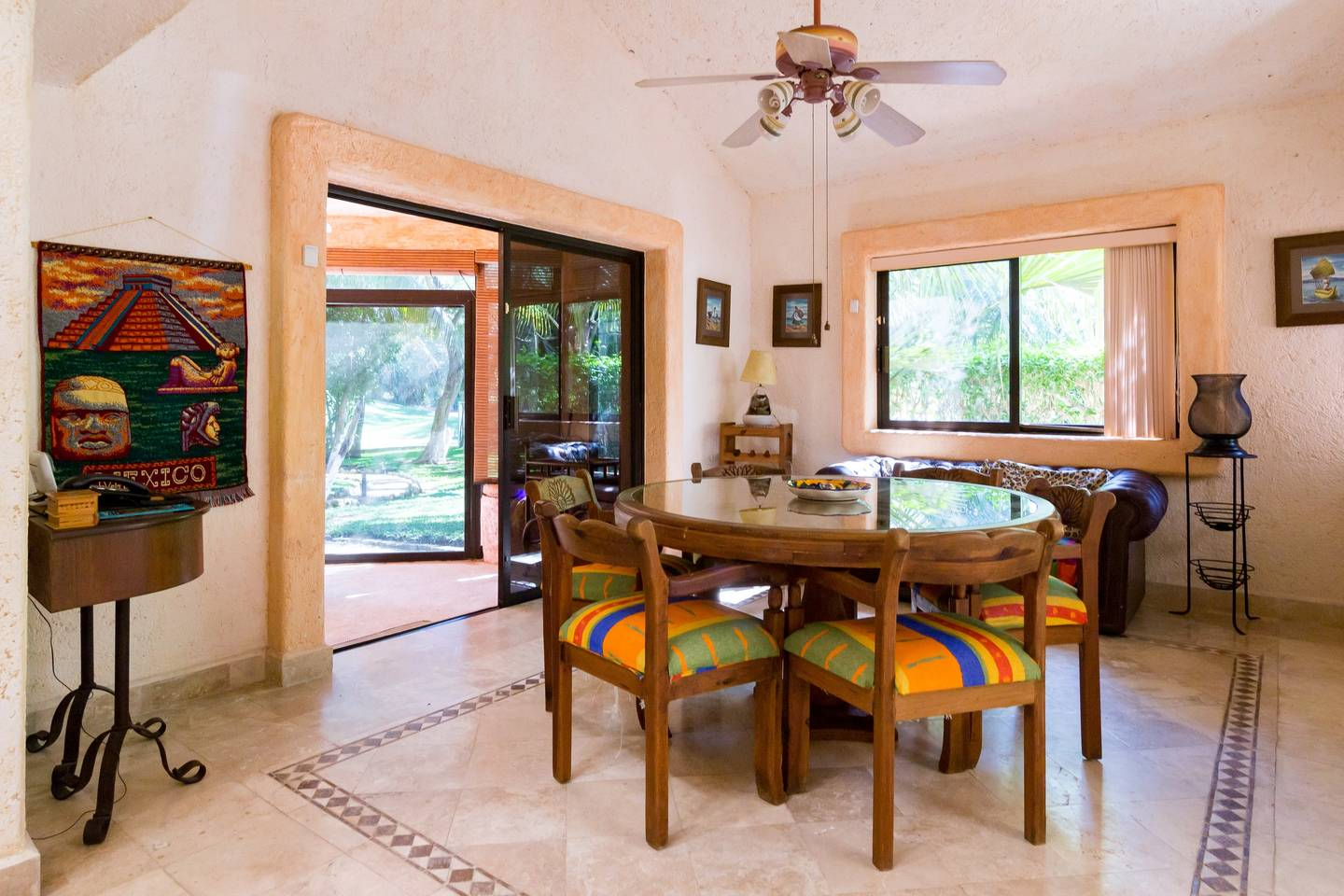 Lovely house with tropical yard in Playacar photo 16719663