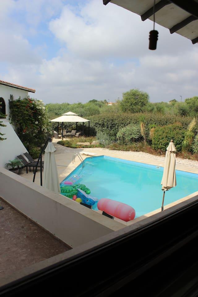 Amazing villa with pool, garden & playground photo 25978842