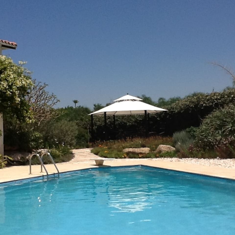 Amazing villa with pool, garden & playground photo 25978838