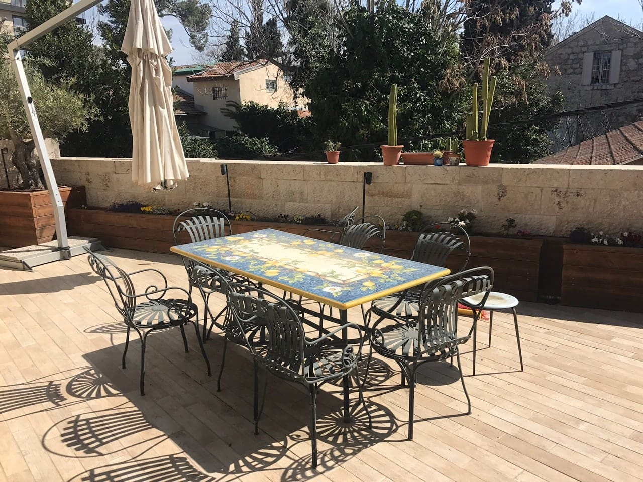 Apartment Private parking and terrace apt in German Colony photo 28498248