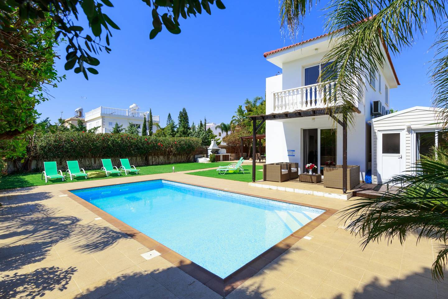 Apartment 3 4 Bedroom Villa with Private Pool - Nissi Beach photo 19562250
