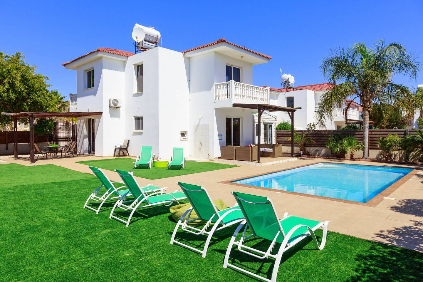 Apartment 3 4 Bedroom Villa with Private Pool - Nissi Beach photo 25600947