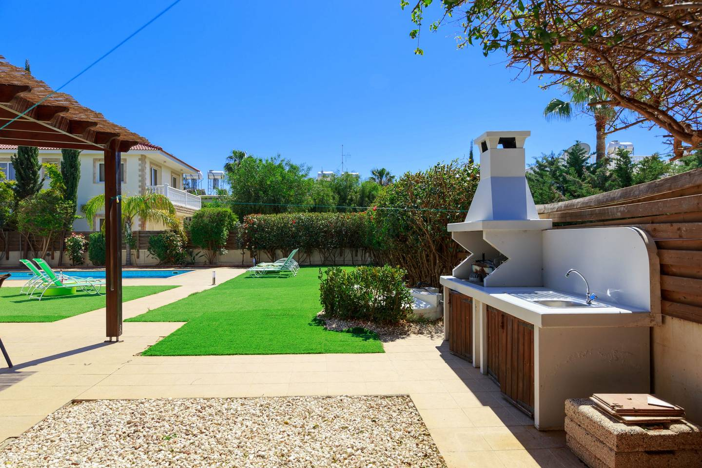 Apartment 3 4 Bedroom Villa with Private Pool - Nissi Beach photo 19613014