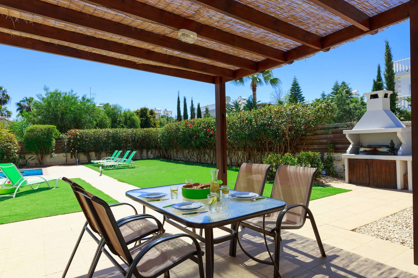 Apartment 3 4 Bedroom Villa with Private Pool - Nissi Beach photo 19363634