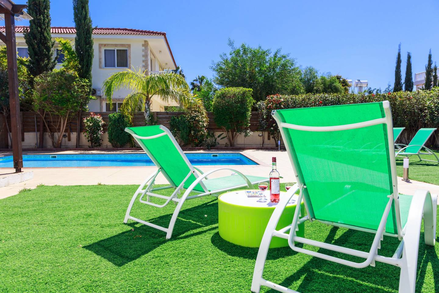 Apartment 3 4 Bedroom Villa with Private Pool - Nissi Beach photo 25600949