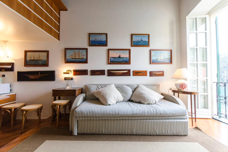 Apartment Hintown Stylish Seaview Apartment in Portofino photo 18199996