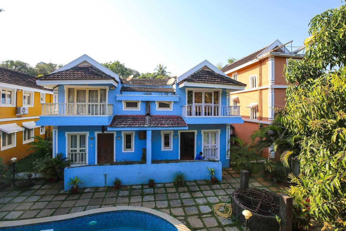 Apartment Poolview Goan Courtyard- Studio Apartment photo 18332715