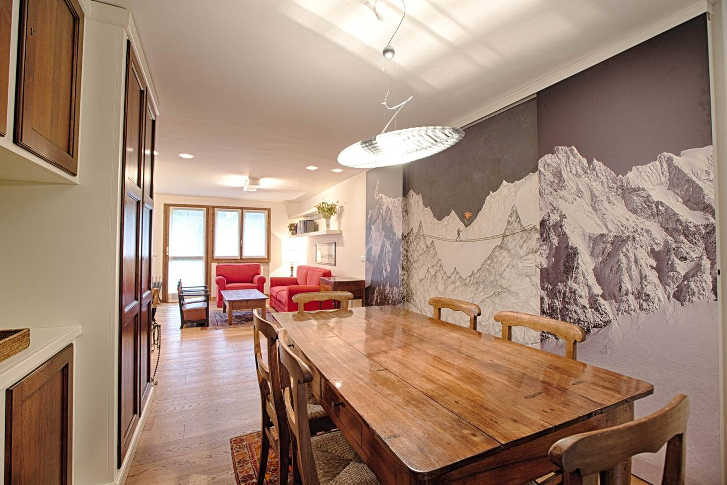 Hintown Charming Style Flat Courmayeur PlanGorret photo 16365819