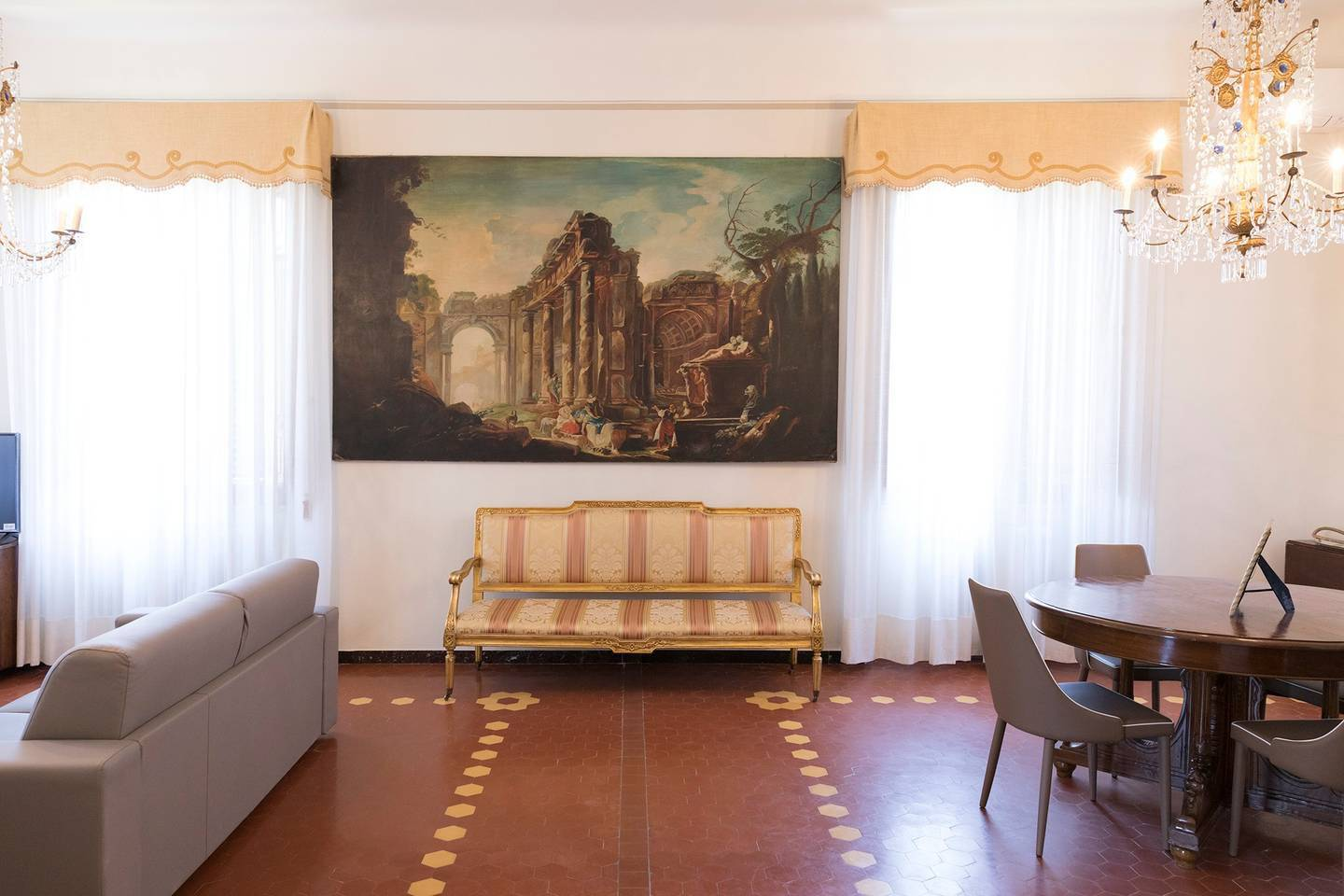 Hintown Villa Neri in front of the city wall photo 15905623