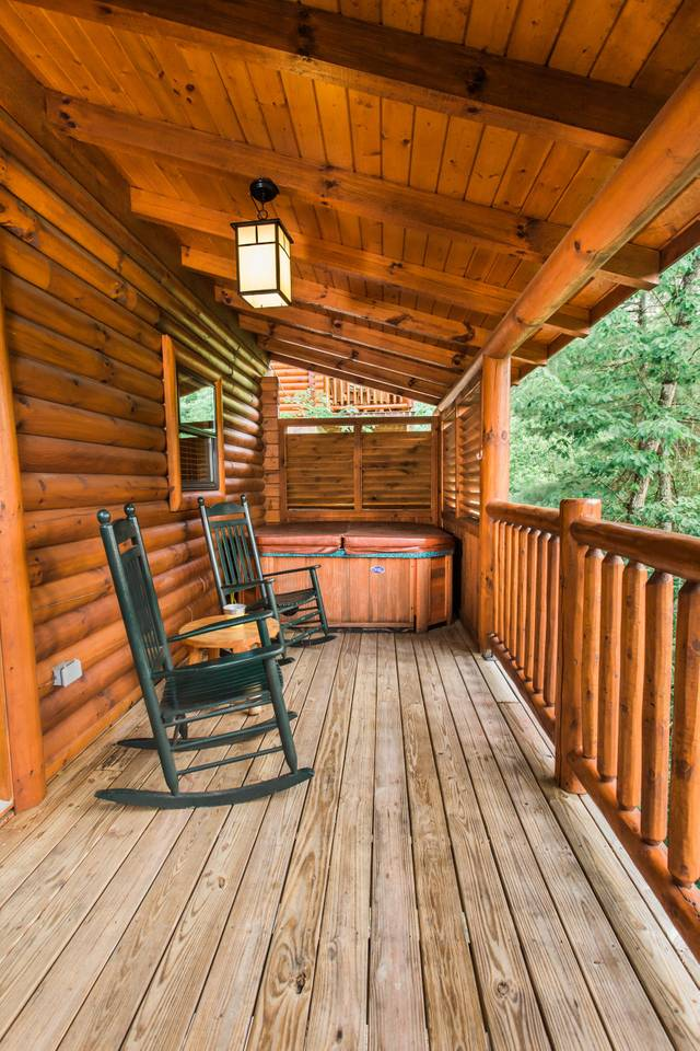 Apartment 10 Min 2 Pigeon Forge Pkwy Gorgeous Cabin Hot Tub photo 16951070