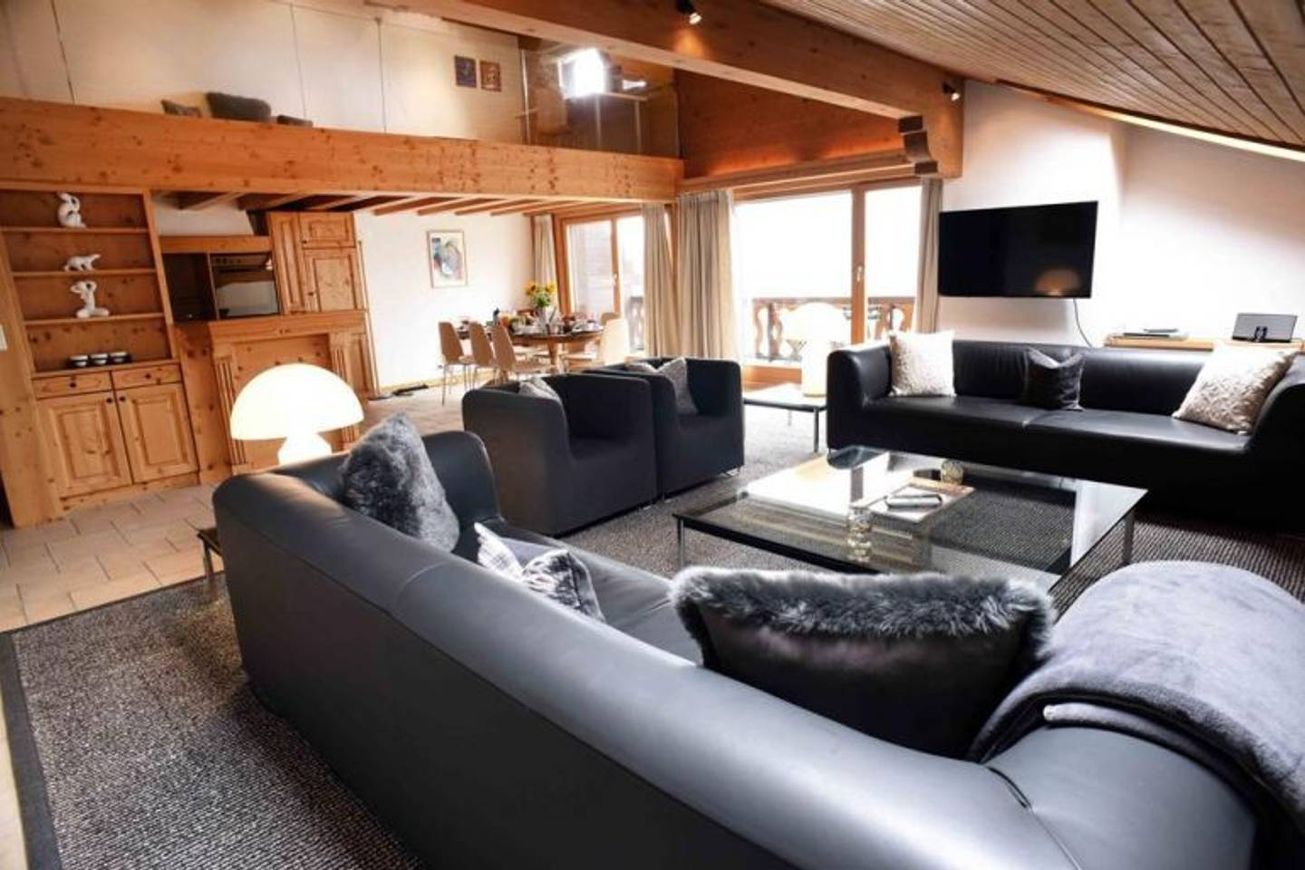 Spacious & cozy Penthouse in verbier photo 28502145