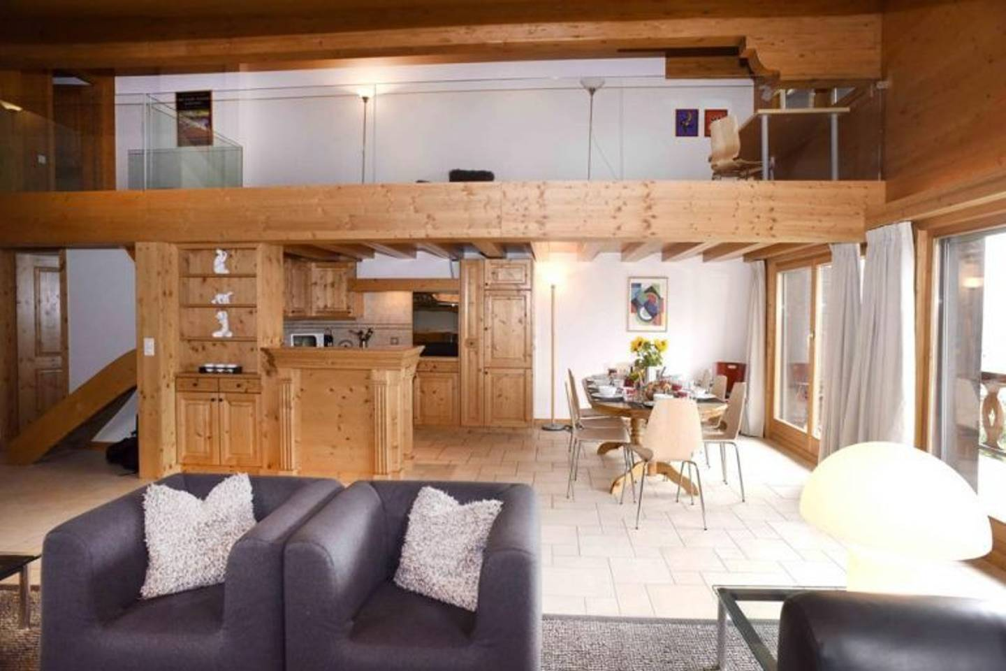 Apartment Spacious   cozy Penthouse in verbier photo 28512554