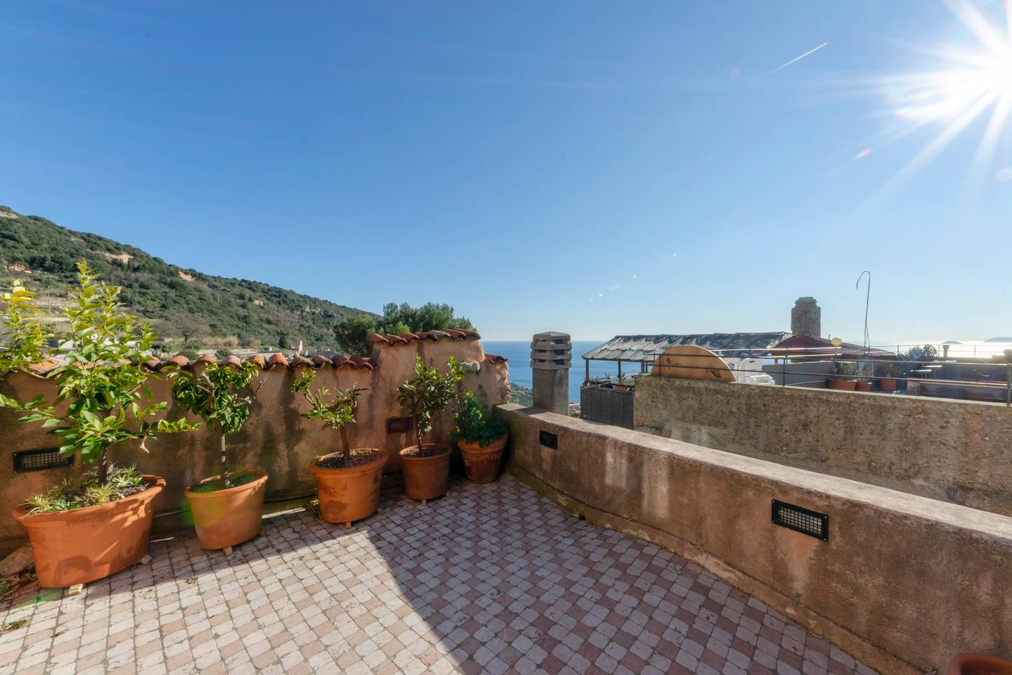 Apartment Hintown Astonishing Sea view Apartment in Verezzi photo 18832061