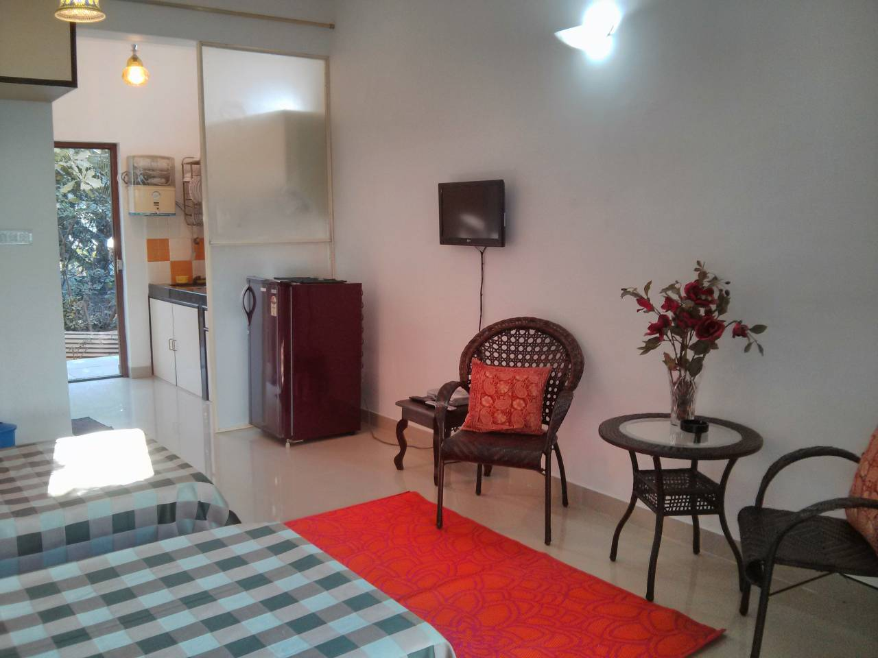 Goan Courtyard- Poolside Studio Apartment photo 6734107