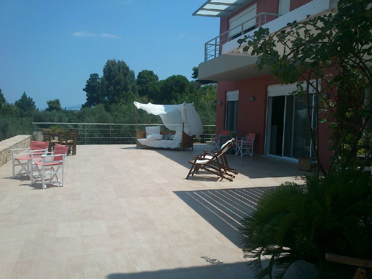 Holiday apartment Beautiful Villa for 10 with private pool on six acres! (2604594), Skala Oropou, , Attica, Greece, picture 4