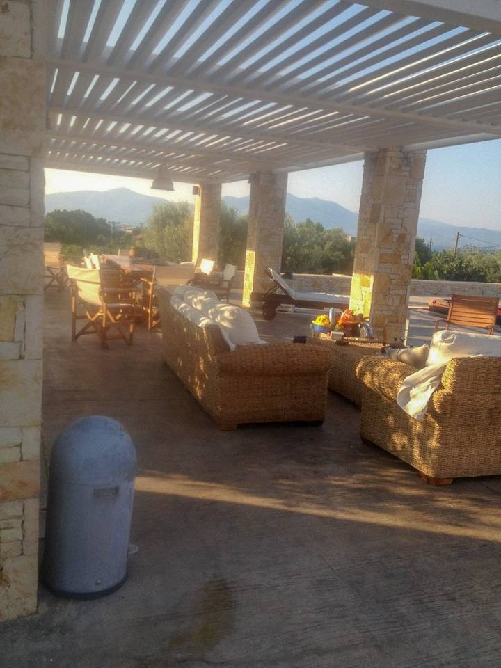 Holiday apartment Beautiful Villa for 10 with private pool on six acres! (2604594), Skala Oropou, , Attica, Greece, picture 12