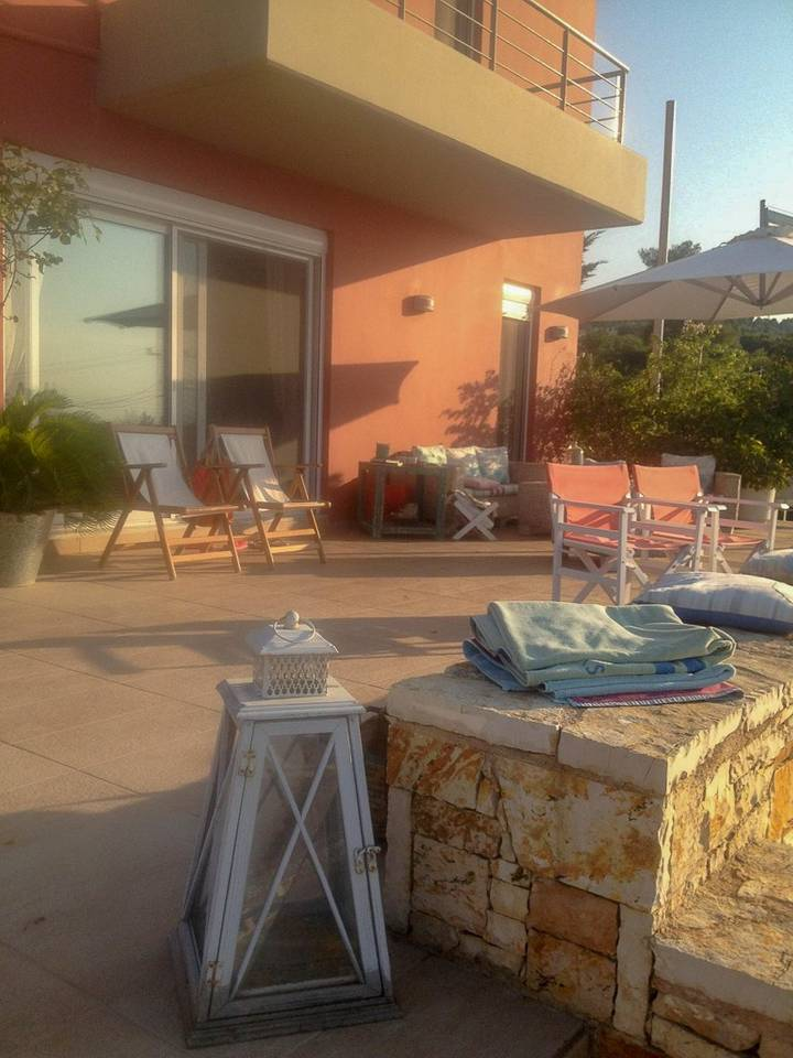 Holiday apartment Beautiful Villa for 10 with private pool on six acres! (2604594), Skala Oropou, , Attica, Greece, picture 16