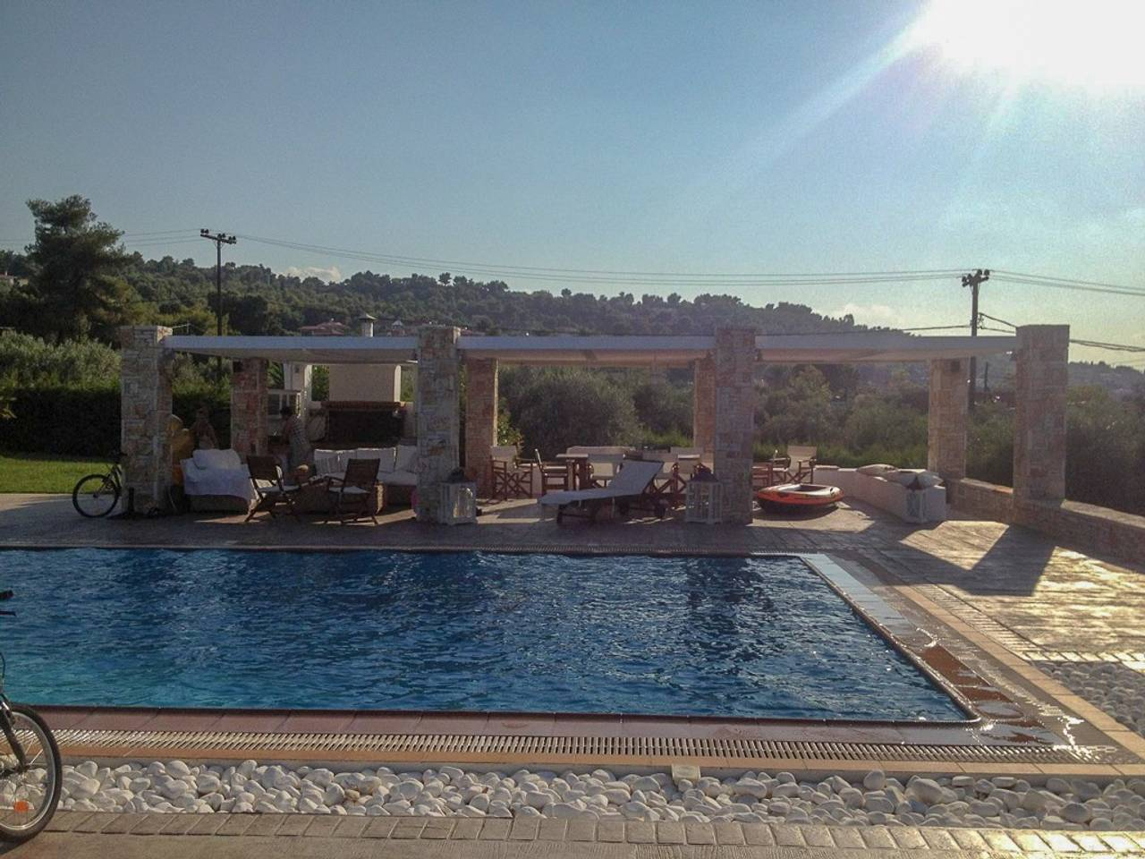 Holiday apartment Beautiful Villa for 10 with private pool on six acres! (2604594), Skala Oropou, , Attica, Greece, picture 18