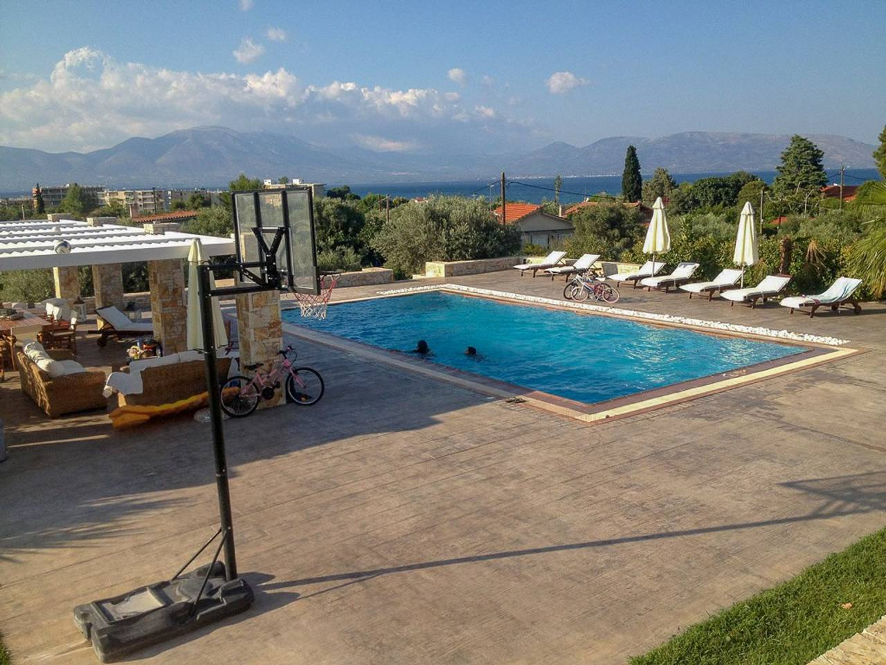 Holiday apartment Beautiful Villa for 10 with private pool on six acres! (2604594), Skala Oropou, , Attica, Greece, picture 27