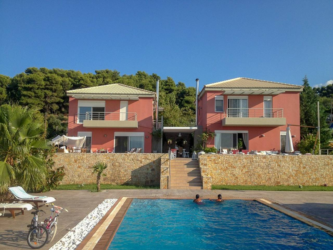 Holiday apartment Beautiful Villa for 10 with private pool on six acres! (2604594), Skala Oropou, , Attica, Greece, picture 30