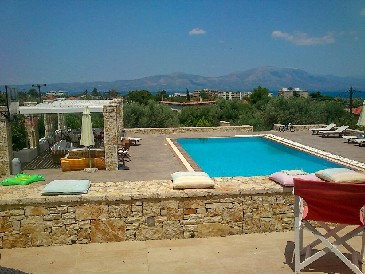 Holiday apartment Beautiful Villa for 10 with private pool on six acres! (2604594), Skala Oropou, , Attica, Greece, picture 1