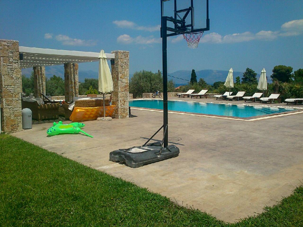 Holiday apartment Beautiful Villa for 10 with private pool on six acres! (2604594), Skala Oropou, , Attica, Greece, picture 38