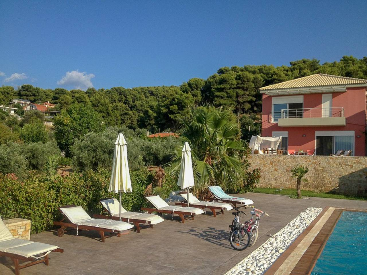 Holiday apartment Beautiful Villa for 10 with private pool on six acres! (2604594), Skala Oropou, , Attica, Greece, picture 42