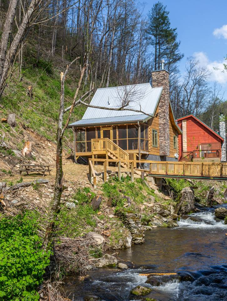Apartment On Roaring Fork Stream  9 Miles to DwTn Gatlinburg photo 28171378